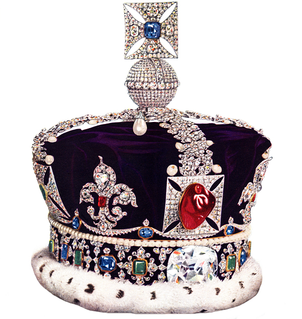 Imperial State Crown the Black Prince's Ruby